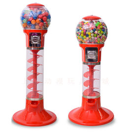 Capsule Toy Gashapon Vending Machine For Shopping Malls / Children's Parks